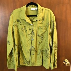 Chico's silk blouse; size 3
